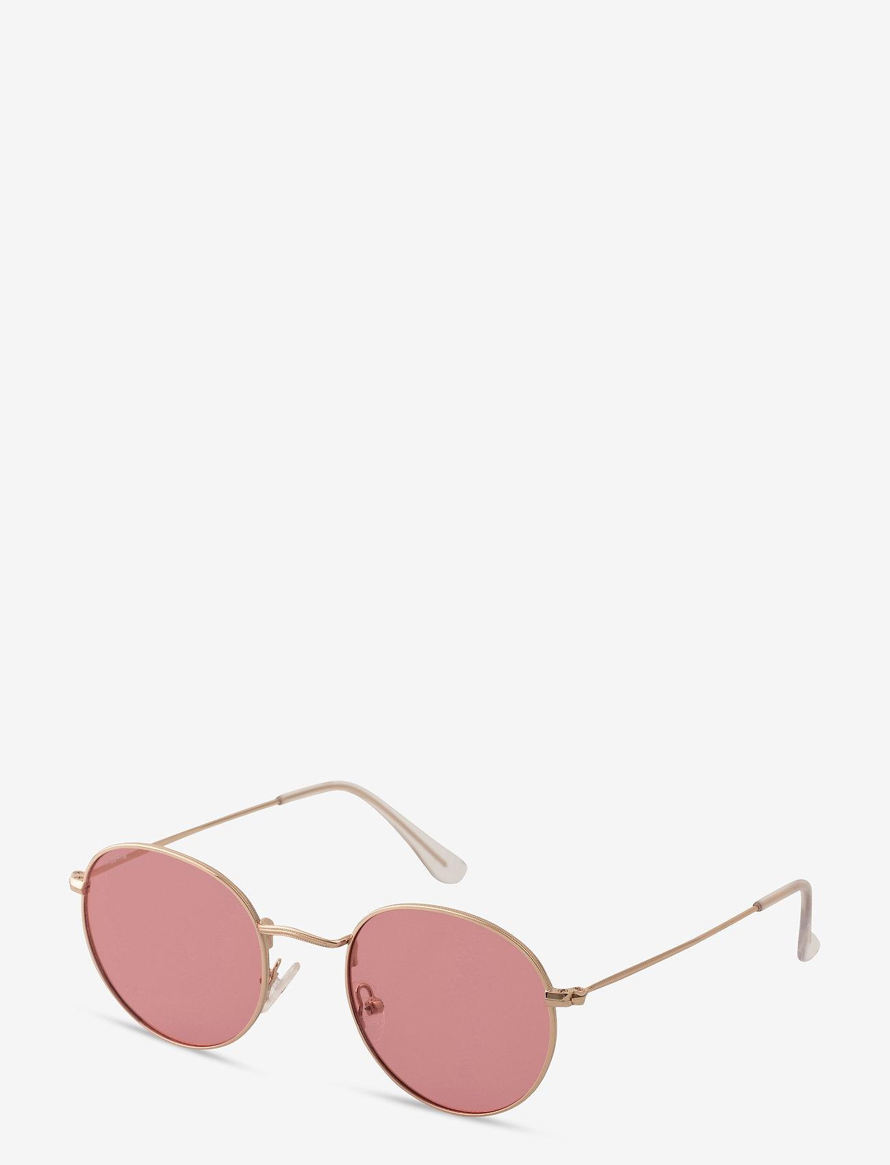 Pilgrim - Sunglasses Pine - rond model - pink - 0
