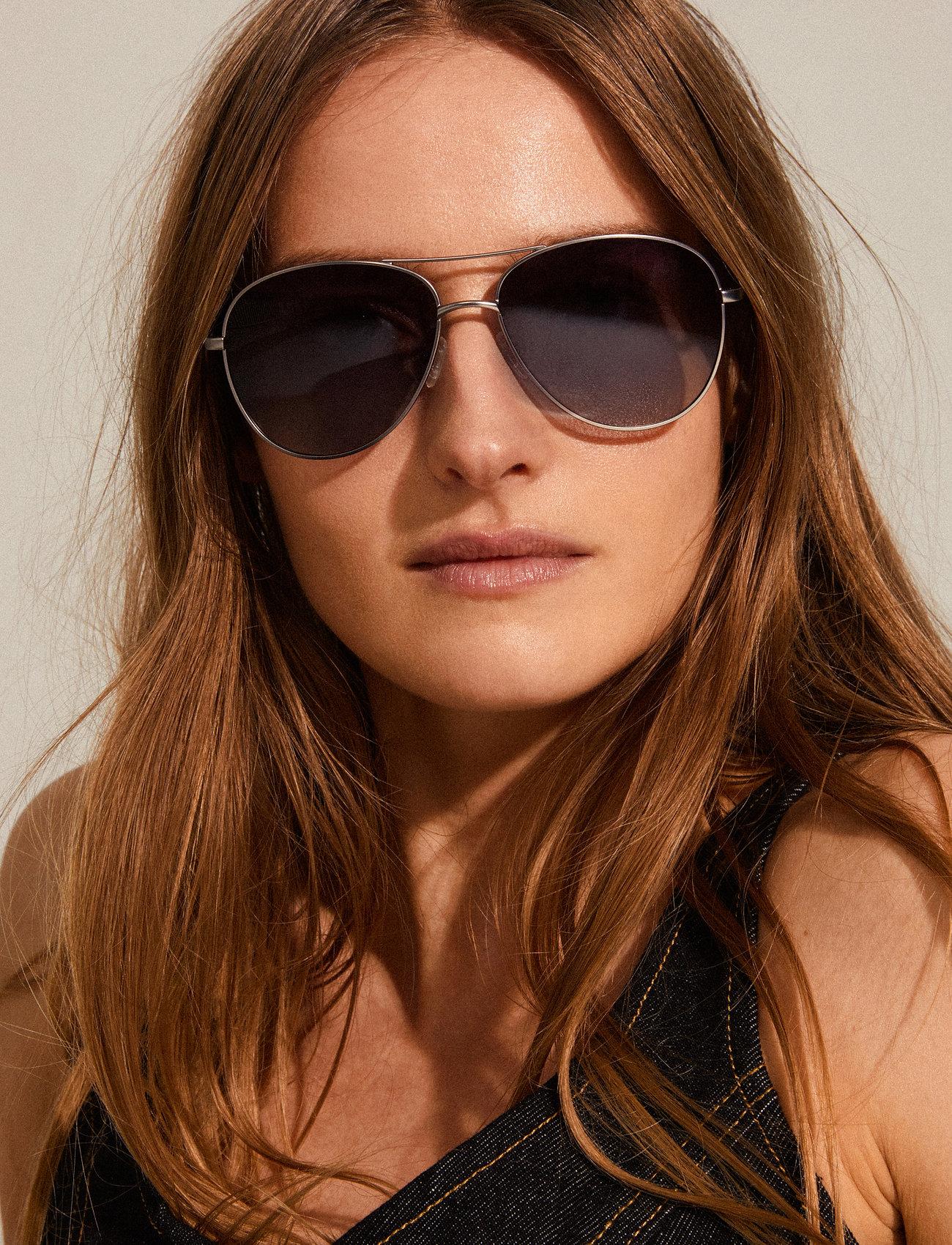 Pilgrim - Nani - okulary przeciwsłoneczne aviator - hematite - 0