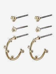 Pilgrim - Earrings Gracefulness - stud oorbellen - gold plated - 0