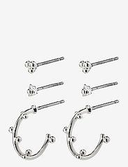 Pilgrim - Earrings Gracefulness - hopen - silver plated - 0