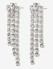 Pilgrim - Earrings Petra Crystal - oorhangers - silver plated - 0