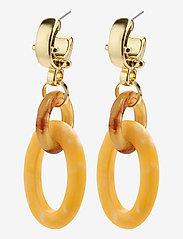 Pilgrim - Villette - statement earrings - gold plated - 1