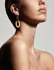Pilgrim - Villette - statement earrings - gold plated - 2