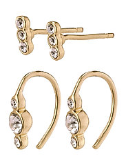 Earrings Radiance Crystal - GOLD PLATED