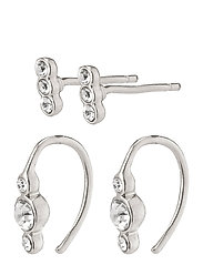 Earrings Radiance Crystal - SILVER PLATED