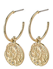 Earrings Warmth Crystal - GOLD PLATED