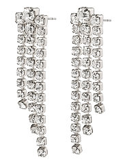 Earrings Petra Crystal - SILVER PLATED