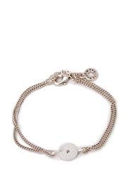 Pilgrim Bracelet Classic - crystal