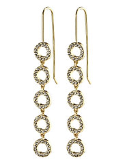 Earrings : Tessa : Gold Plated : Crystal - GOLD PLATED