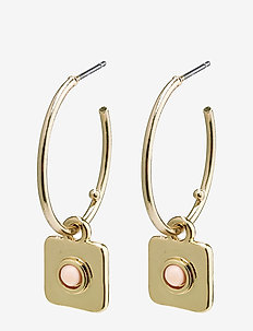 Wisdom - hoops - gold plated
