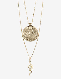 Sensitivity - dainty necklaces - gold plated