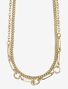 Sensitivity - statement necklaces - gold plated