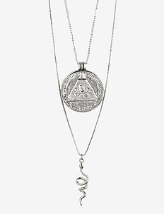Sensitivity - dainty necklaces - silver plated