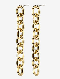 Earrings Heritage Gold Plated - oorhangers - gold plated