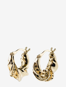 Earrings Simplicity Gold Plated - hoops - gold plated