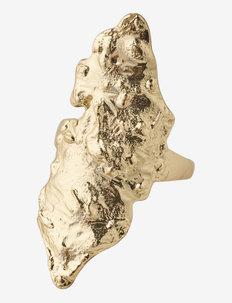 Ring Horizon Gold Plated - ringar - gold plated