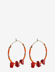 Joy - hoops - gold plated