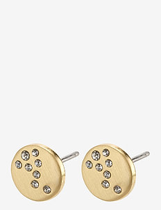 Intuition - studs - gold plated