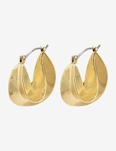 Intuition - cerceaux - gold plated