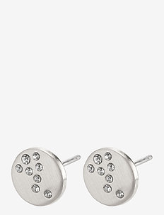 Intuition - studs - silver plated