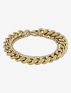 Bracelet Radiance Crystal - dainty - gold plated