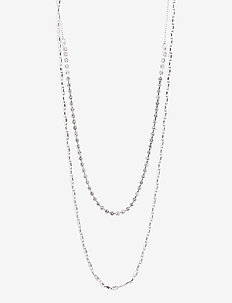 Necklace Cherished Silver Plated Crystal - kettingen  - silver plated