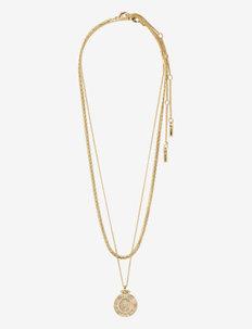 Necklace Nomad Gold Plated - halsband med hänge - gold plated