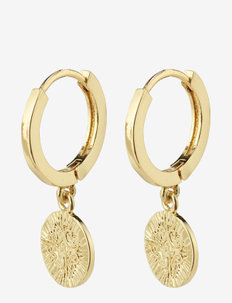 Earrings Nomad Gold Plated - hoops - gold plated