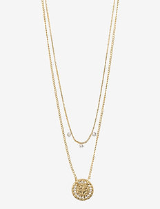 Radiance Crystal - dainty necklaces - gold plated