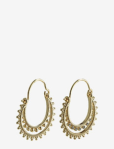 Signe - hoops - gold plated