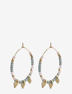 Cadence - hoops - gold plated