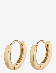 Arnelle - hoops - gold plated