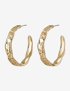 Earrings Madigan - hoops - gold plated