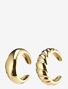 Earrings Helga Gold Plated - ear cuffs - gold plated