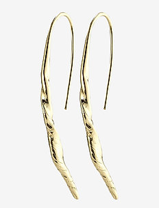 Earrings Heidi Gold Plated - statement earrings - gold plated