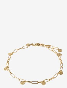 Ankle chain River Gold Plated - fotkedjor - gold plated