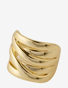 Ring Rhea Gold Plated - ringar - gold plated