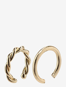 Marina - cerceaux - gold plated