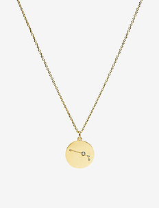 Necklace - ARIES - små halskjeder - gold plated
