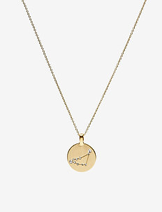 Necklace - CAPRICORN - ketten mit anhänger - gold plated