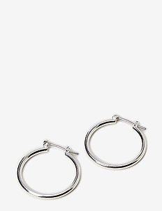 Pilgrim Earrings Silver Classic - cerceaux - silver