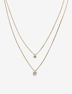 Lucia - dainty necklaces - gold plated