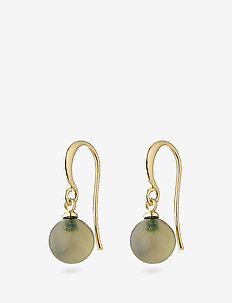 Goldie - pendant earrings - gold plated