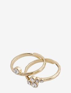 Fran - rings - gold plated