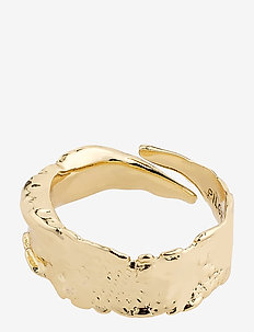 Ring : Bathilda : Gold Plated - ringen - gold plated