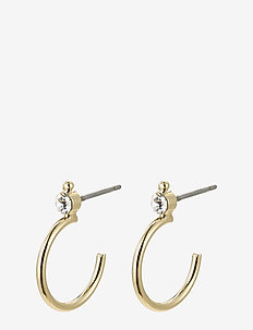 Gabrielle - hoops - gold plated