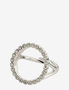 Malin - rings - silver plated