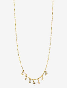 Necklace : Regina : Gold Plated - dainty necklaces - gold plated