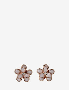 Earrings - ROSE GOLD/WHITE