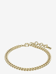 Bracelet : Fuchsia : Gold Plated - dainty - gold plated